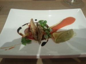 Whitebait tempura