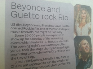 David Guetto? Interesting...