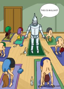 Tin man yoga