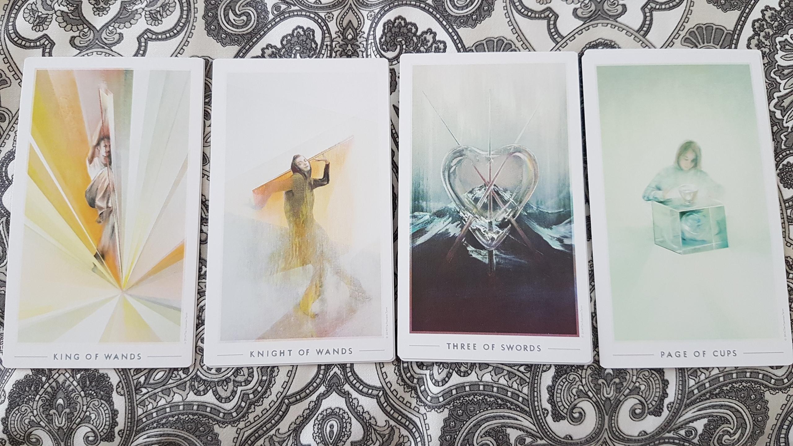 Fountain Tarot | Notes by Nectar